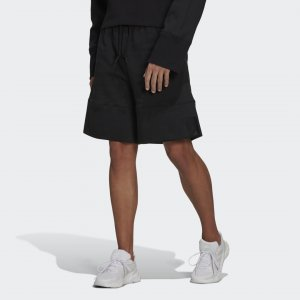 Флисовые шорты Sportswear Comfy and Chill adidas. Цвет: черный