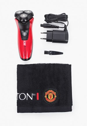 Электробритва Remington PR1355, Manchester United. Цвет: красный