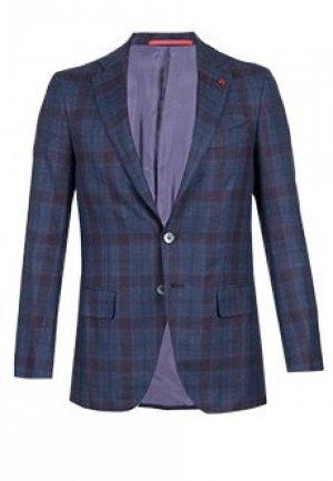 Пиджак ISAIA. Цвет: синий