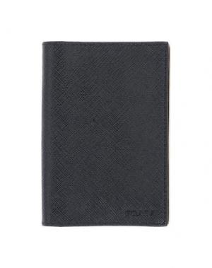 Чехол для документов PRADA. Цвет: черный