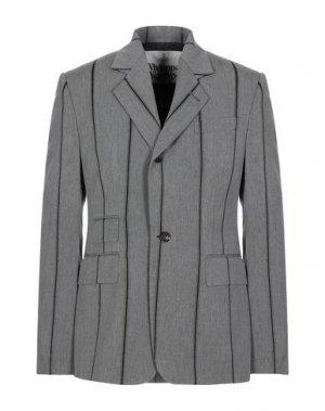 Пиджак VIVIENNE WESTWOOD. Цвет: серый