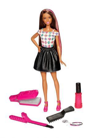 Барби (Брюнетка Кудри) Barbie. Цвет: черный