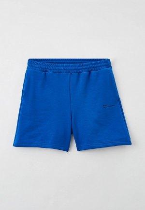 Шорты спортивные Plain Classic Blue. Цвет: синий