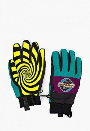 Перчатки горнолыжные Analog AG BARTLETT GLV. Цвет: разноцветный