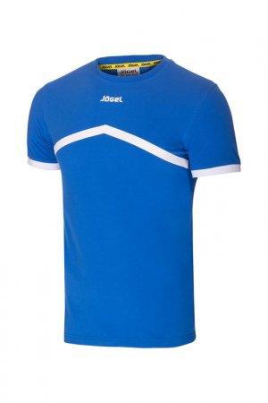 Футболка тренировочная Jogel. Цвет: синий, белый