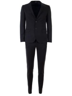 Классический костюм Roberto P. Цвет: черный