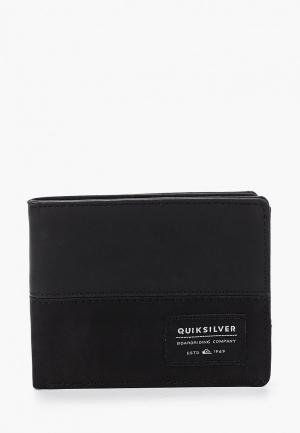 Кошелек Quiksilver. Цвет: черный