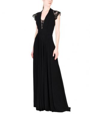 Длинное платье CATHERINE DEANE. Цвет: черный