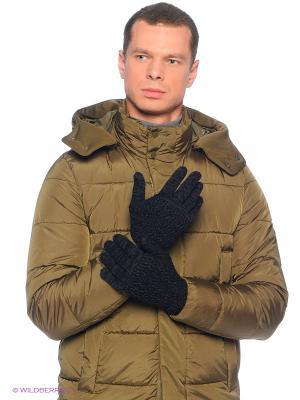 Перчатки Calvin Klein. Цвет: антрацитовый