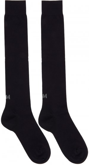 Two-Pack Navy Techmerino Knee Socks Ermenegildo Zegna. Цвет: 402 midnigh