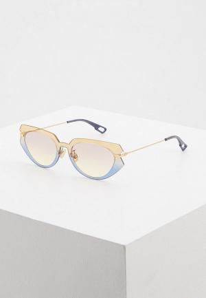 Очки солнцезащитные Christian Dior DIORATTITUDE2 3LG. Цвет: разноцветный
