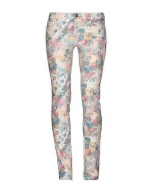 Джинсовые брюки PT Torino. Цвет: слоновая кость
