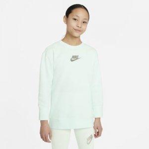 Свитшот для девочек школьного возраста Nike Sportswear - Зеленый