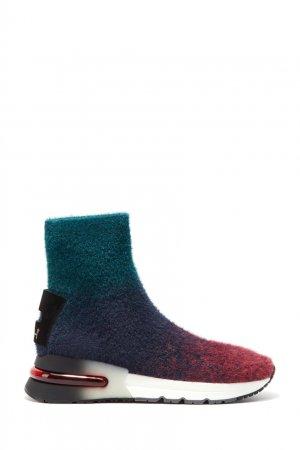 Высокие комбинированные кроссовки Kimy ASH. Цвет: multicolor