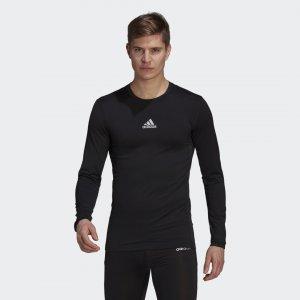 Лонгслив Compression Performance adidas. Цвет: черный