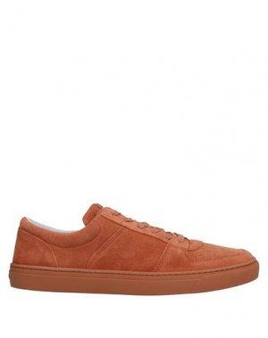 Низкие кеды и кроссовки JIM RICKEY. Цвет: ржаво-коричневый