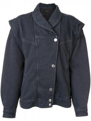 Джинсовая куртка Eriala Isabel Marant. Цвет: серый