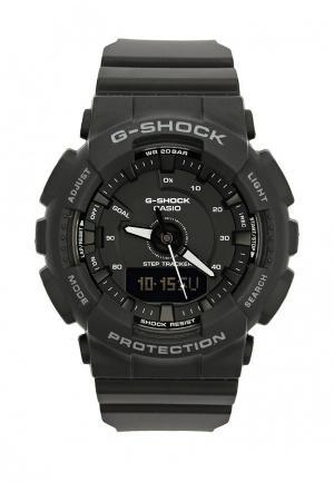 Часы Casio G-SHOCK GMA-S130-1A. Цвет: черный