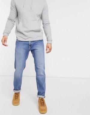 Голубые зауженные джинсы -Синий Esprit