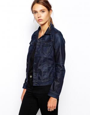 Джинсовая куртка G-Star. Цвет: умеренный выбеленный