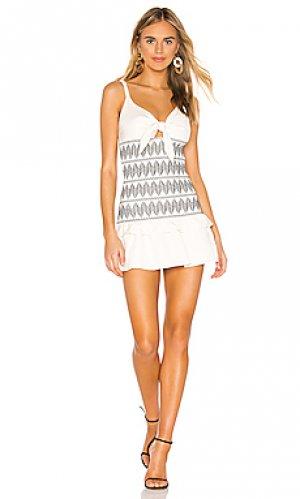 Платье santania Shona Joy. Цвет: белый