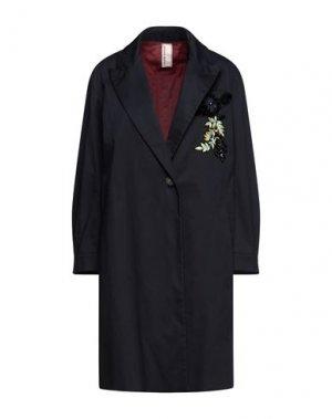 Легкое пальто ANTONIO MARRAS. Цвет: темно-синий