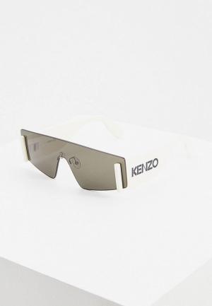 Очки солнцезащитные Kenzo KZ 40103U. Цвет: белый