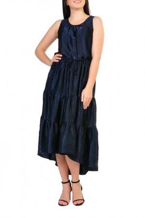 Платье Forus. Цвет: синий темный
