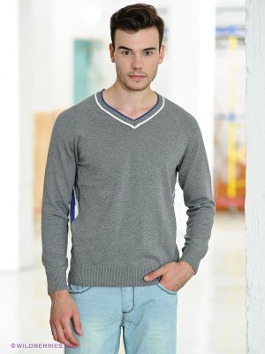 Пуловер LiberaVita. Цвет: серый