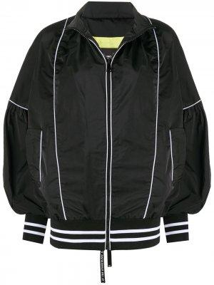 Куртка с контрастной окантовкой Frankie Morello. Цвет: черный