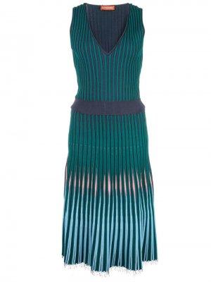 Платье Tunbridge Altuzarra. Цвет: зеленый