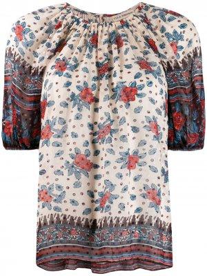 Блузка Pristine Ulla Johnson. Цвет: нейтральные цвета