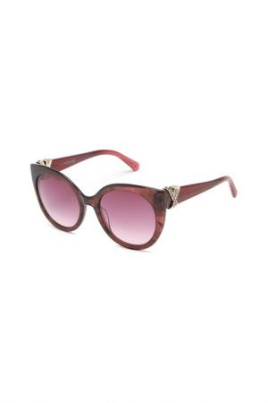 Солнцезащитные очки Swarovski. Цвет: коричневый