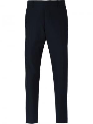 Классические брюки Burberry London. Цвет: синий