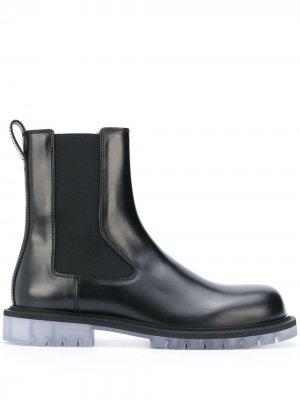 Ботинки челси Bottega Veneta. Цвет: черный
