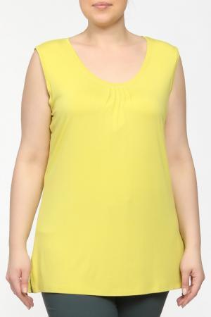 Майка Elena Miro. Цвет: желтый