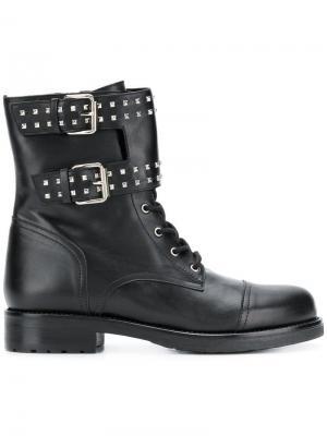 Buckle detail ankle boots Albano. Цвет: черный