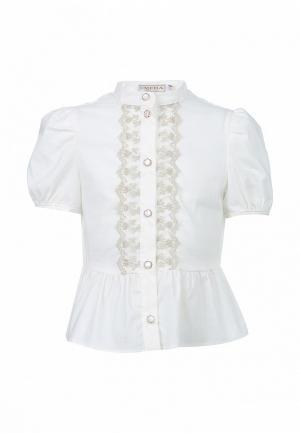 Блуза Смена. Цвет: белый