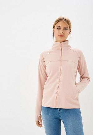 Олимпийка Roxy. Цвет: розовый
