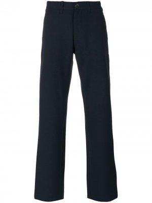 Классические брюки Armani Jeans. Цвет: синий