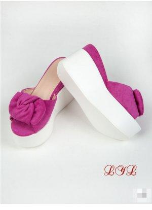 Сабо LYL. Цвет: розовый