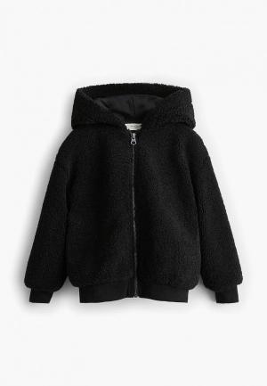 Куртка Mango Kids - NANTES. Цвет: черный