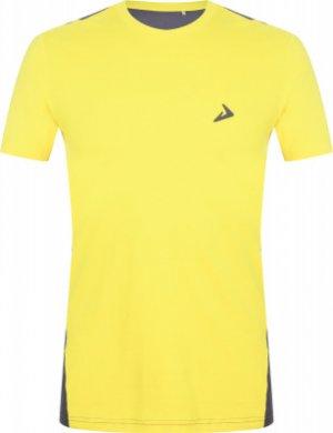 Футболка мужская , размер 46 Demix. Цвет: желтый