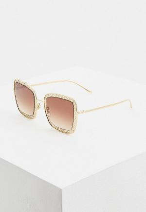 Очки солнцезащитные Dolce&Gabbana DG2225 02/13. Цвет: золотой