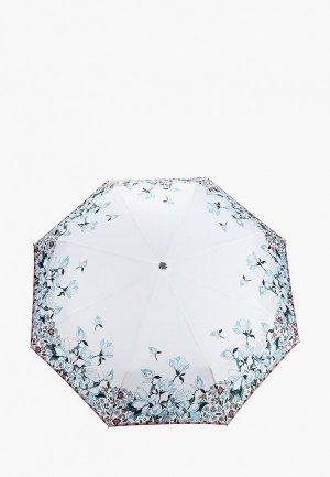 Зонт складной Eleganzza. Цвет: белый