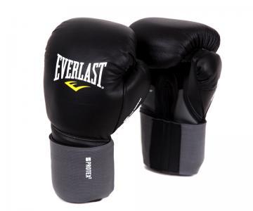 Перчатки боксерские Protex2 Leather, размер 14-16 Everlast. Цвет: черный
