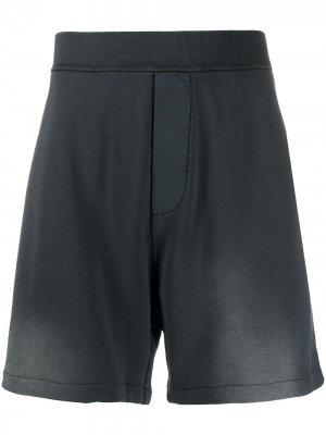 Спортивные шорты с надписью Dsquared2. Цвет: черный