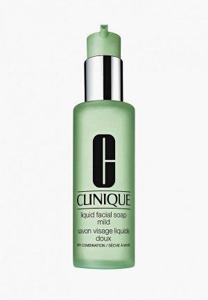 Мыло для лица Clinique Мягкое Liquid Facial Soap Mild. Цвет: прозрачный