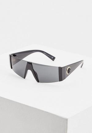 Очки солнцезащитные Versace VE4360 GB1/87. Цвет: черный