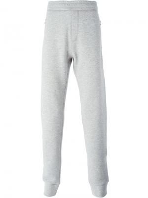 Классические спортивные брюки Lanvin. Цвет: серый